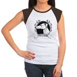Greyhound Women's Cap Sleeve T-Shirt