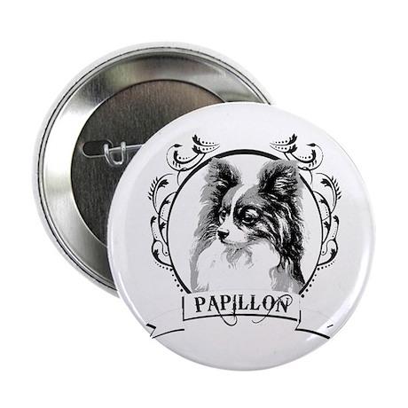 """Papillon 2.25"""" Button (100 pack)"""