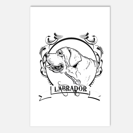 Labrador Retriever Postcards (Package of 8)