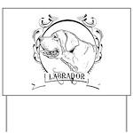 Labrador Retriever Yard Sign