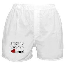 Sweden Loves Me Boxer Shorts