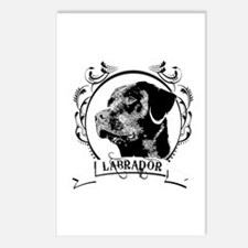 Black Lab Postcards (Package of 8)