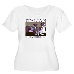 Italian Greyhounds 2 T-Shirt