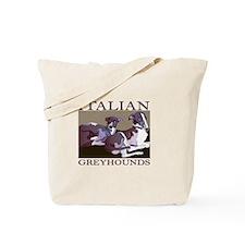 Italian Greyhounds 2 Tote Bag