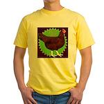 Rhode Island Red Hen2 Yellow T-Shirt