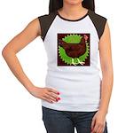 Rhode Island Red Hen2 Women's Cap Sleeve T-Shirt