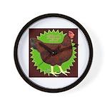 Rhode Island Red Hen2 Wall Clock