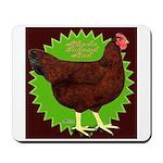 Rhode Island Red Hen2 Mousepad