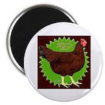Rhode Island Red Hen2 Magnet