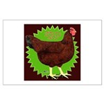 Rhode Island Red Hen2 Large Poster