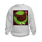 Rhode Island Red Hen2 Kids Sweatshirt