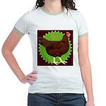 Rhode Island Red Hen2 Jr. Ringer T-Shirt