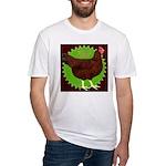 Rhode Island Red Hen2 Fitted T-Shirt
