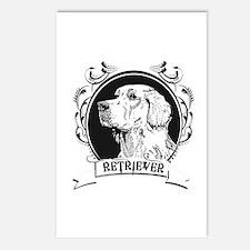 Golden Retriever Postcards (Package of 8)