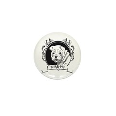 Sharpei Mini Button (100 pack)