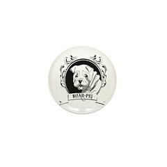 Sharpei Mini Button (100 pack)