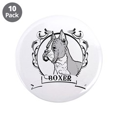 "Dog Breed 3.5"" Button (10 pack)"