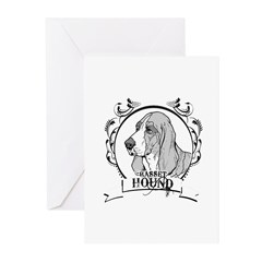 Basset Hound Greeting Cards (Pk of 10)
