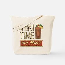 Key West Tiki Time - Tote or Beach Bag