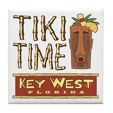 Key West Tiki Time - Tile Coaster