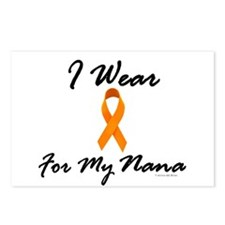I Wear Orange For My Nana 1 Postcards (Package of