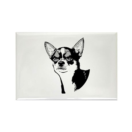 Chihuahua Rectangle Magnet (10 pack)