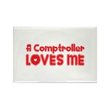 A Comptroller Loves Me Rectangle Magnet (100 pack)