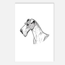 Terrier Postcards (Package of 8)