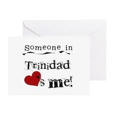 Trinidad Loves Me Greeting Card