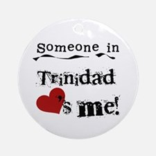 Trinidad Loves Me Ornament (Round)