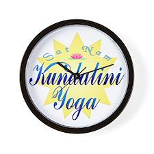 Kundalini Yoga Wall Clock