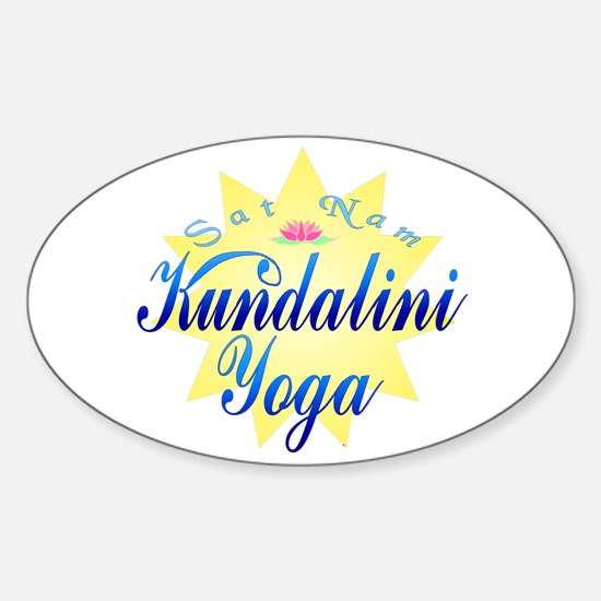 Kundalini Yoga Sticker (Oval)