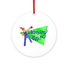 Kickboxing Rox Ornament (Round)