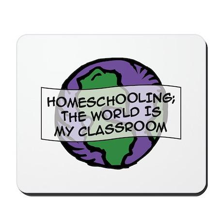 Homeschooling Globe Mousepad