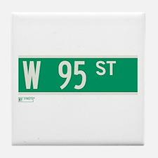95th Street in NY Tile Coaster