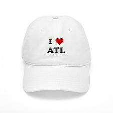 I Love ATL Baseball Cap