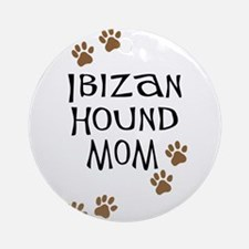 Ibizan Hound Mom Ornament (Round)