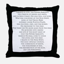 Creeds of Faith Throw Pillow