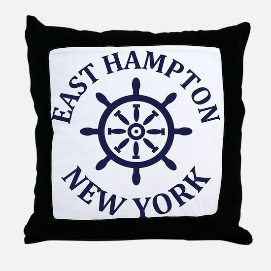 Cool East hampton Throw Pillow