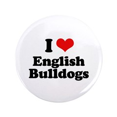 I Love English Bulldogs 3.5