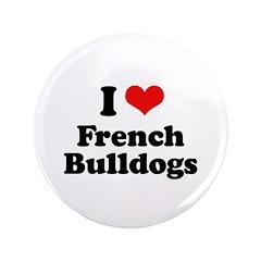 I Love French Bulldogs 3.5
