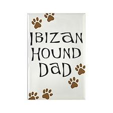 Ibizan Hound Dad Rectangle Magnet
