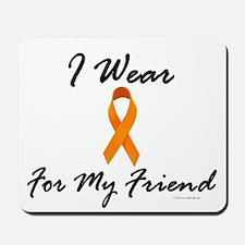 I Wear Orange For My Friend 1 Mousepad