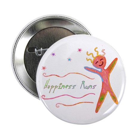 """Happiness Runs 2.25"""" Button (10 pack)"""