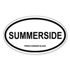 Summerside Oval Decal