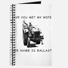 Wife as ballast Journal