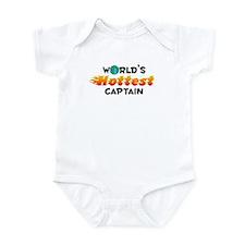 World's Hottest Captain (C) Infant Bodysuit