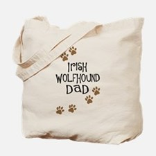 Irish Wolfhound Dad Tote Bag