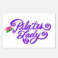 Pilates Lady Postcards (Package of 8)