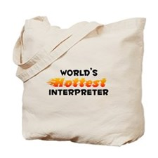 World's Hottest Inter.. (B) Tote Bag